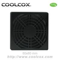 CoolCox 80mm fan filter,exhaust fan filter,dust filter for 8cm fan,5pcs/lot