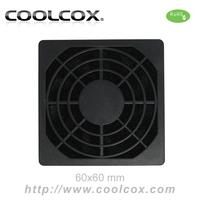 CoolCox 60mm fan filter,exhaust fan filter,dust filter for 6cm fan,5pcs/lot