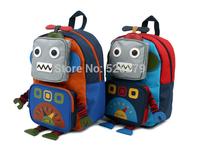 retail-2014 New Brand Robot Kindergarten School for Baby Boys Girls Bags Children School Bags,Kids Backpacks