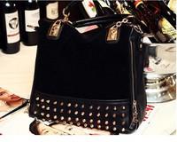 Desigual 2014 new fashion rivet women handbags designers casual brand satchel women messenger bags bolsos