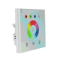 LED RGB touch controller;DC12-24V input;4A*3CH output