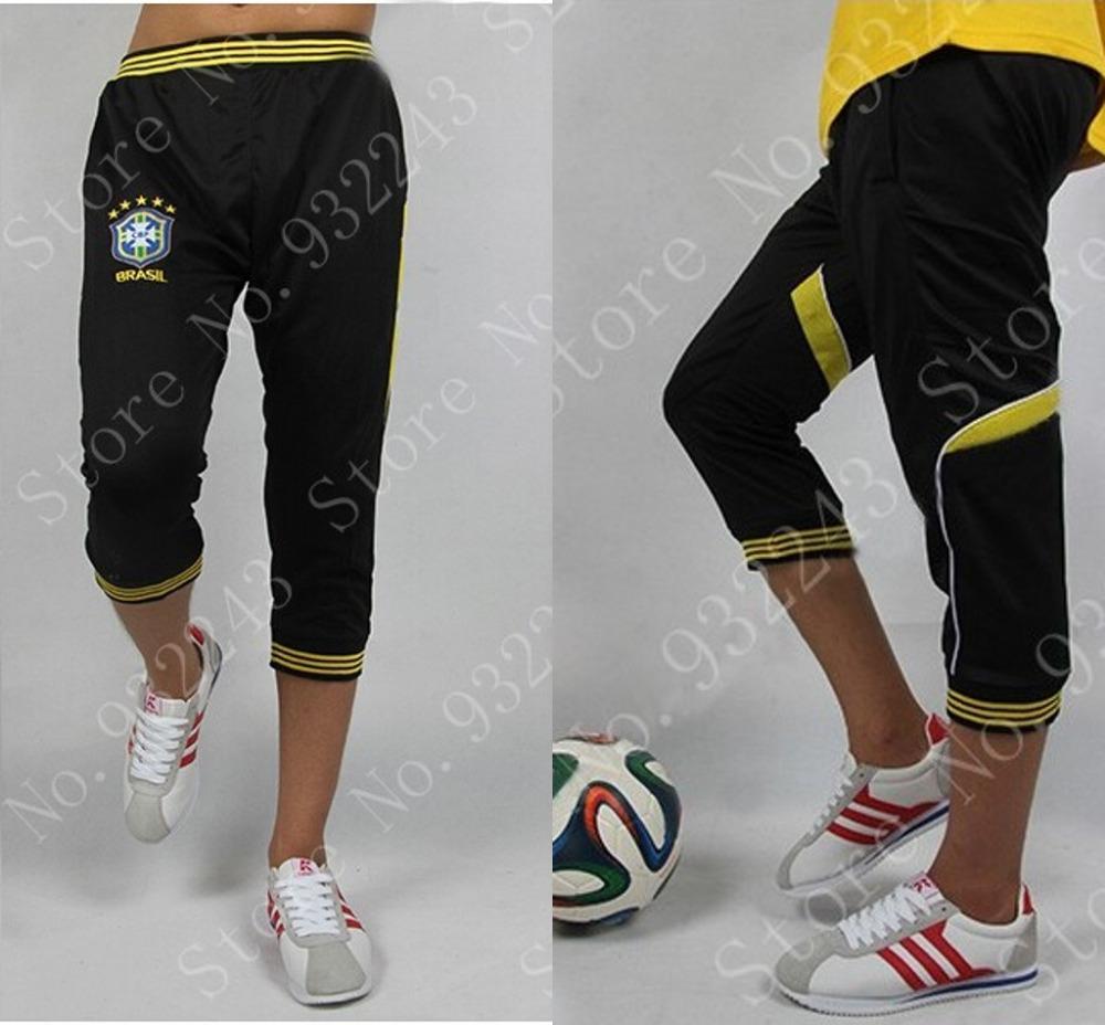 Youth Soccer Sports Pants Skinny Joggers Men Jogger Pants Boy 3/4 Sweat Track Pants Man Football Sweatpants Trackpants(China (Mainland))