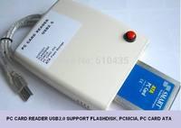 USB 2.0 ATA PCMCIA card reader support flashdisk, pcmcia, pc card ATA,ATA Flash storage