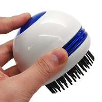 Portable Wireless Electric Head Hair Scalp Massager Vibrating Comb Brush