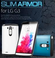 1pc HK Post Free 2014 New Arrival SGP SPIGEN Neo Hybird Slim Armor Case For LG G3 OPP Bag Packaging NO: G301