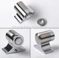 2pcs Stainless Steel and Zinc Alloy Magnetic Door Stop Stopper Holder Door Stopper Metal Door Stopper