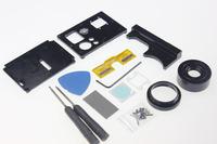 F08415 Interchangable Lens Modification Kit for Gopro Hero 3 3+ Plus  Black Action Camera DIY Upgrad + Freeship