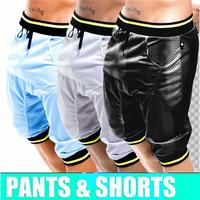 1pcs mens sexy underwear running sports shorts 2014 Dance Jogging Harem Slacks Hip Hop boxer gym penis Baggy Harem Sweatpants