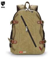 large capacity professional camping bag canvas backpack sports bag schoolbag free shipping