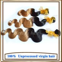 6A Virgin Brazilian Body Wave cheap Brazilian ombre hair extensions wholesale body wave 4bundles lot two tone human hair weaves