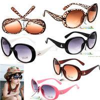 Free Shipping 1pcs Baby Boys Girls Kids Sunglasses Child Goggles Googles Glasses 5 Colors 100%UV400