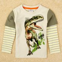 FREE SHIPPING  A5080Y# new hot fashion nova kids brand baby boys children clothing cotton spring long t shirt for baby boys