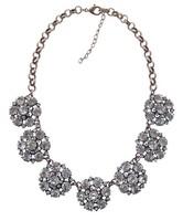 2014 European Women Long Chain Handmade Exaggerate Statement  Rhinestone Chunky Shourouk Necklaces & Pendants ND8096