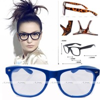 Free Shipping 2014 new fashion glasses 23 kinds clear lens glasses