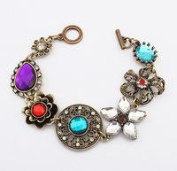 YXSP4690     2014 new fashion   Retro exquisite diamond flower    Bracelets for women