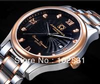 Luxury Swiss Brand Sapphire Glass Men's Classics calendar Business Steel Quartz Watch