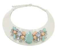 New rhinestone fashion necklaces & pendants collar costume choker Necklace statement jewelry necklace women acessories