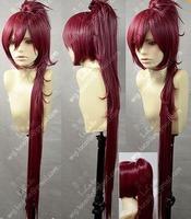 Hot Sell! New Puella Magi Madoka Magica Kyoko Sakura Red Cosplay Wig