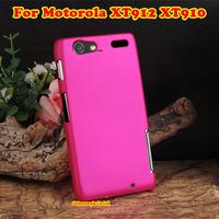 Flip Hard Case Back Cover Mobile Phone Rubber Hard Shell For Motorola XT912 XT910 MAXX DROID RAZR Phone Cases