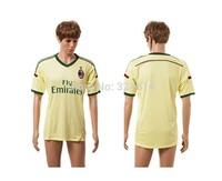 2014-2015 AC milan third away top thai soccer jerseys,soccer shirt,soccer uniform,trainning jerseys 100% embroidery
