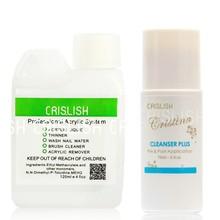 Cristina Nail Art Acrylic Uv Gel Remover Tip Cleanser Plus Set Nail Polish Remover Pads Uv Gel Remover Drop Shipping(China (Mainland))