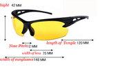 Night Vision Sunglasses Polarized Men Sun Glasses Yellow Driving Eyewear Driver Eyeglasses For Male Driver,2014 New