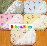 New fashion lace flower designs contact lenses box & case /  lens Companion box / Wholesale