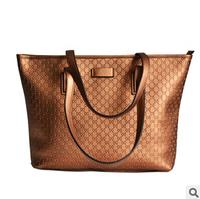 Genuine leather bag 2014 bag for woman cowhide shoulder bags woman's bow handbag