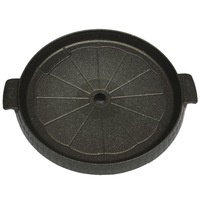 Korean barbecue dish Korean barbecue outdoor barbecue plate stamping plate pitting JR round nonstick grill plates