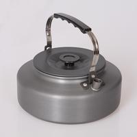 Outdoor  teapot aluminum coffee pot 1.6L large capacity portable kettle wholesale