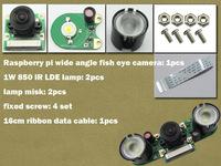 Raspberry pi Wide Angle Fish Eye Camera RPI Webcam Suit Raspbian DIY Development Kit new arrival toy monitor freeshipping hot