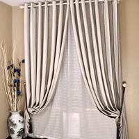 Cloth curtain fluid brief modern bedroom curtain 260 quality jacquard curtain