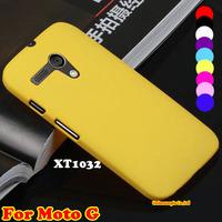 Flip Hard Case Back Cover Mobile Phone Rubber Hard Case For Motorola Moto G DVX XT1032 XT1028 XT1031 XT1033 Phone Cases