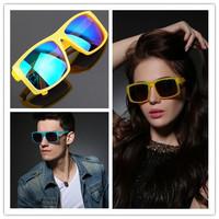 Cheapest New 2014 Fashion Glasses Sport Cycling Eyewear Coating Sunglass Ken Block  Brand Designer gafas Eye oculos de sol Men