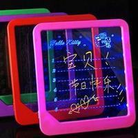 Small gift luminous message board derlook information board lovers