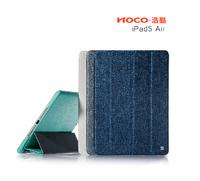 Luxury hoco brand PU leather case for apple ipad Air/5 Star Series leather case for ipad air/5 support sleep&wake up function