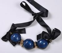 New fashion wholesale collar bib choker chunky necklaces & pendants vintage accessories Necklace marni statement jewelry women