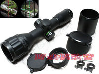 Sniper 6x32 AO RGB(red/green) Riflescope Hunting Scope Mil-dot Classic Compact Optics with sun shade-Free shipping
