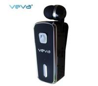 VEVA V6 wireless charge clamp collar one push tow bluetooth earphone precaution alarm Flexible receiver
