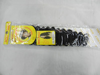 "5PACKS/LOT  Miss Rola Long  Deep wave  18"" Black High heat resistant synthetic hair extension"