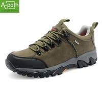 2014 new fashionable shoes non-skid waterproof outdoor climbing men wear hiking shoes sneakers cross-country sports shoes