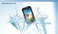 6 Colors General Waterproof Snowproof Dirtproof Shockproof Diving Case for Samsung Galaxy S5 I9600
