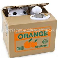 New toys, steal money cat piggy bank, home ornaments, handicrafts