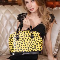 The new fashion Women polka dot pattern handbag female bag vintage bag female bag for women