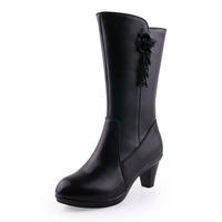 2014 Freeshipping Medium(b,m) Wide(c,d,w) Special Offer Botas Femininas Size Women's Boots New Martin Wedge Women Cotton Genuine