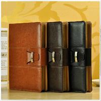 High quality Faux Leather Diary Notebook Business diary A5 B5 size