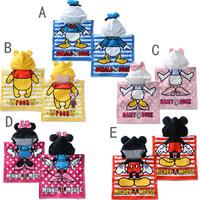 2014 New arrive 1 piece  Mickey Minnie Kids Sleepwear, hood warm child bathrobe, Free size Baby Children Robes