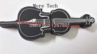 Black 8 16 32 64GB Guitar Shape Full Capacity USB Sticker USB 3.0 16G  Pen Driver Sticker  Portable Memory Stick