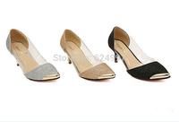 2014 New Women Pumps Shoes High Heels Party Shoes Platform Nude Pumps Summer Thin Heels Sandal Summer/autumn Shoes For Women