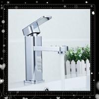 Bathroom Faucet Chrome Basin Faucet Mixer Tap single Handle Bathroom Lavatory basin faucet with Fashion design